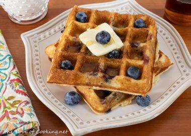 Blueberry Waffles