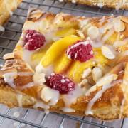 Peach and Raspberry Tartlets