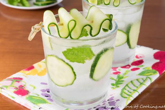 Cucumber Lime Vodka Fizz