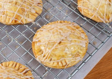 Peach Hand Pies with Cinnamon Glaze