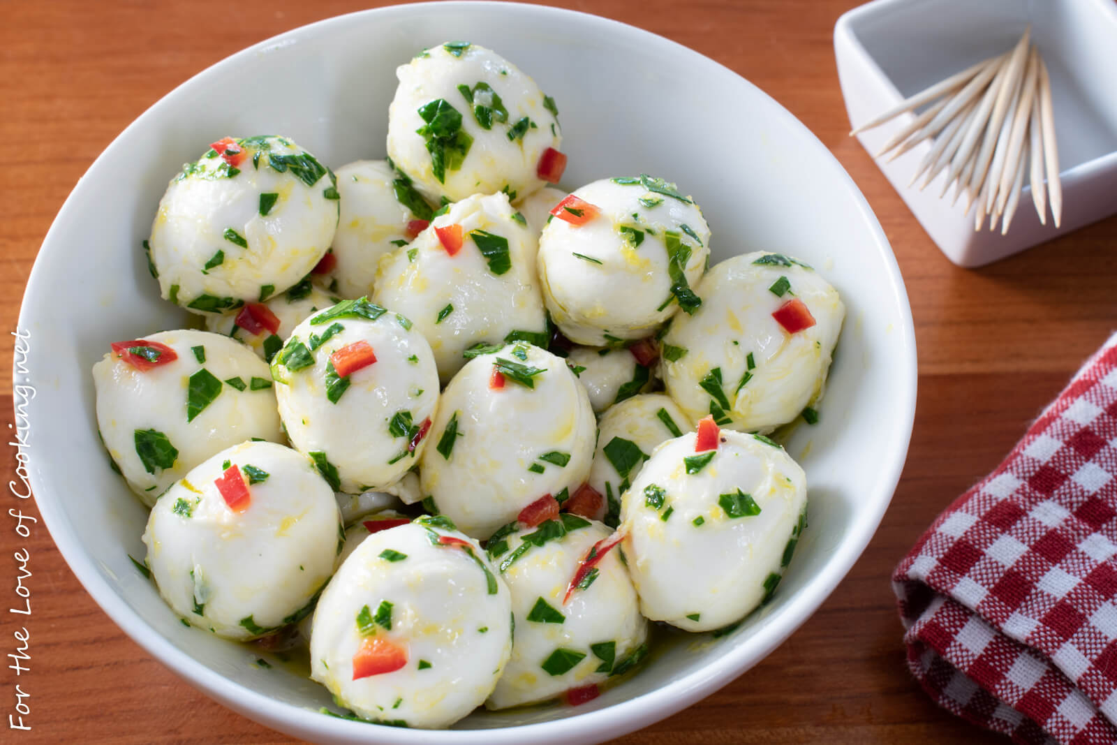 Marinated Mozzarella Balls